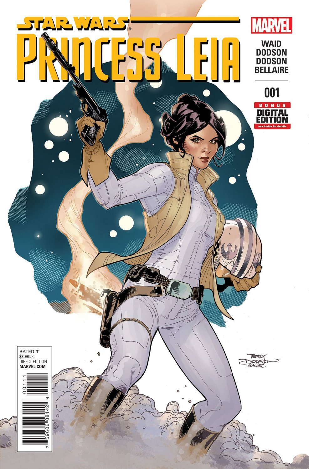 Princess Leia #1 [2015] VF/NM Marvel Comics  *Incentive Copy*