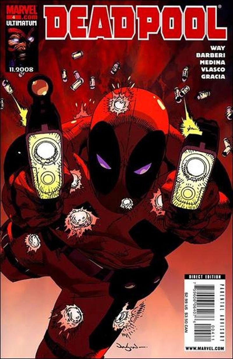Deadpool #4 (Vol 3) [2008] VF/NM Marvel Comics