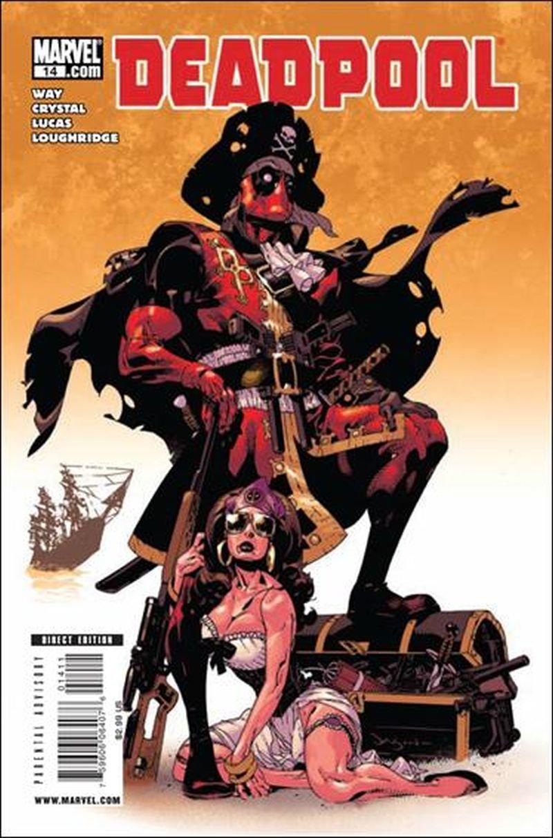 Deadpool #14 (Vol 3) [2008] VF/NM Marvel Comics