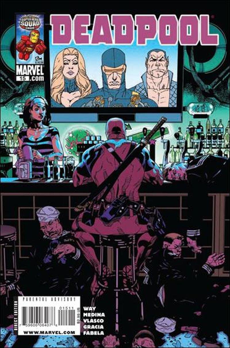 Deadpool #15 (Vol 3) [2008] VF/NM Marvel Comics