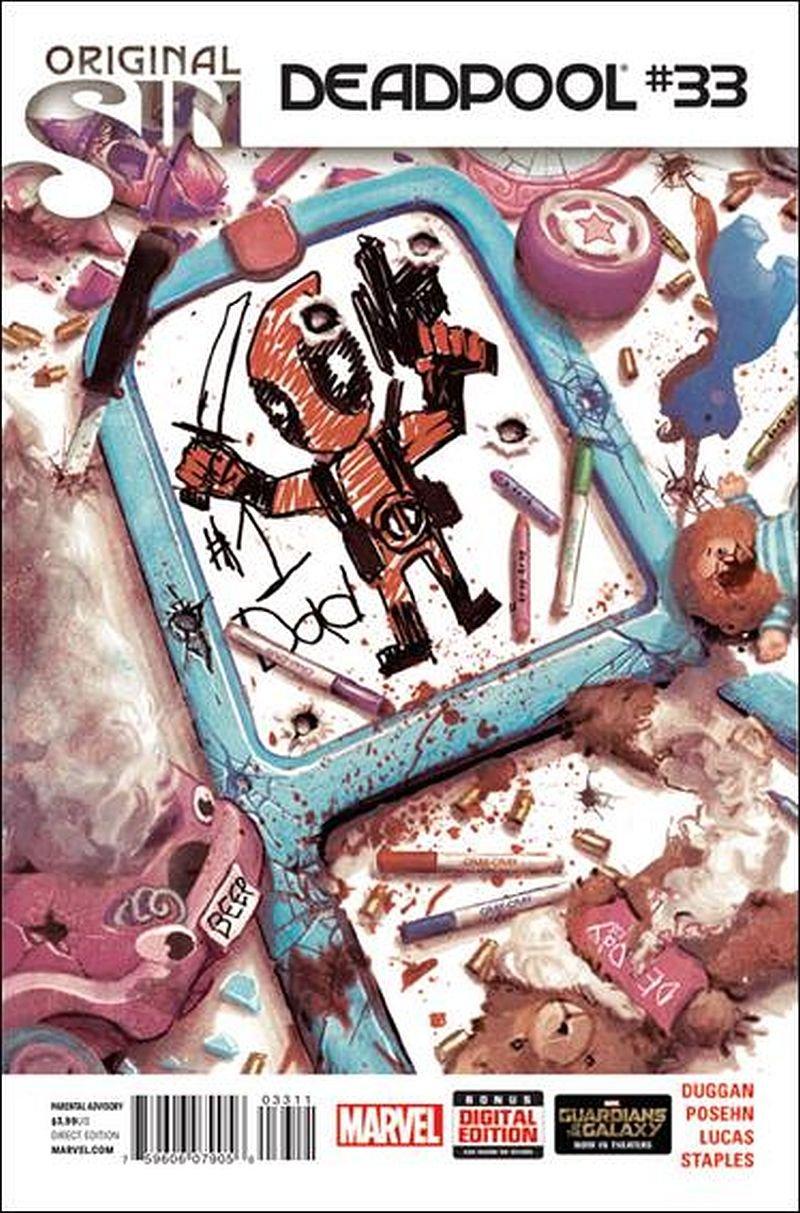Deadpool #33 (Vol 4) [2013] VF/NM Marvel Now! Comics