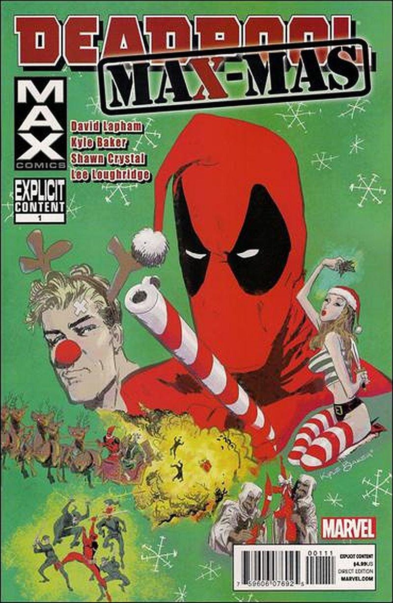 Deadpool Max Max-Mas #1 [2012] VF/NM Marvel Comics