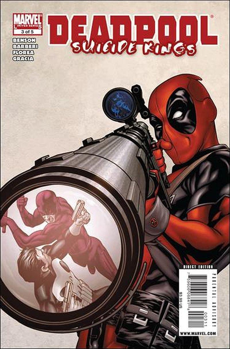 Deadpool Suicide Kings Mini Series #3 of 5 [2009] VF/NM Marvel Comics
