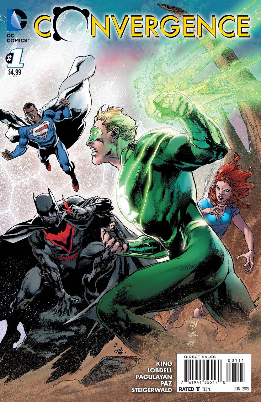 Convergence #1 [2015] VF/NM DC Comics