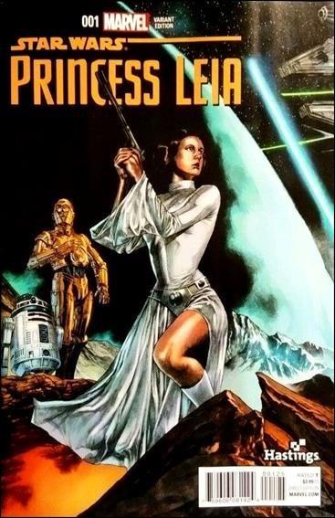 Princess Leia #1 Hastings Color Variant [2015] VF/NM Marvel Comics