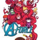 A-Force #1 Skottie Young Variant [2015] VF/NM  Marvel Comics