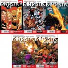 Fantastic Four Set #1 2 3 4 5 (Vol 5) [2014] VF/NM Marvel Now Comics