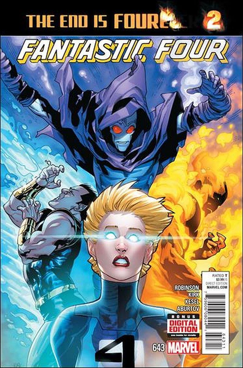 Fantastic Four #643 [2015] VF/NM Marvel Comics