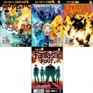 Fantastic Four #642 643 644 645 [2015] *Trade Set* all 1st print comics VF/NM Marvel Comics