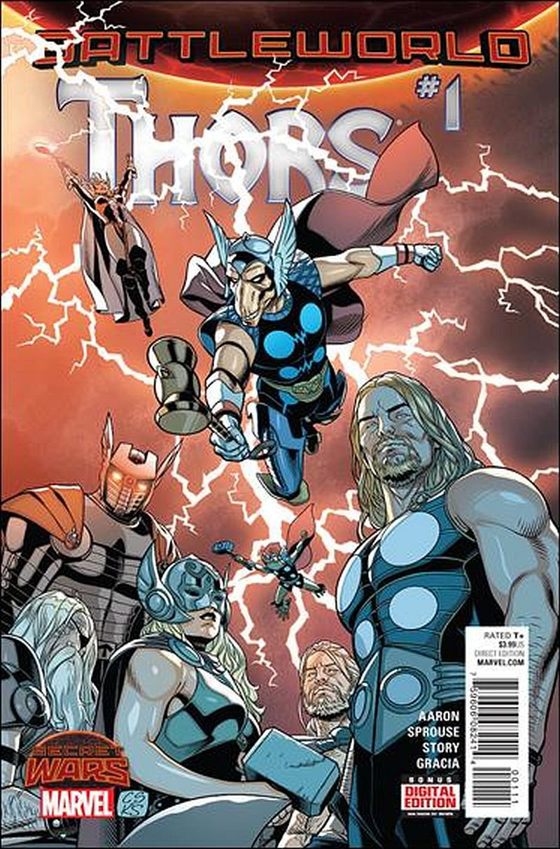 Thors #1 [2015] VF/NM Marvel Comics