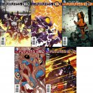 New 52 Future's End Trade Set #31 32 33 34 35 [2014] VF/NM DC Comics