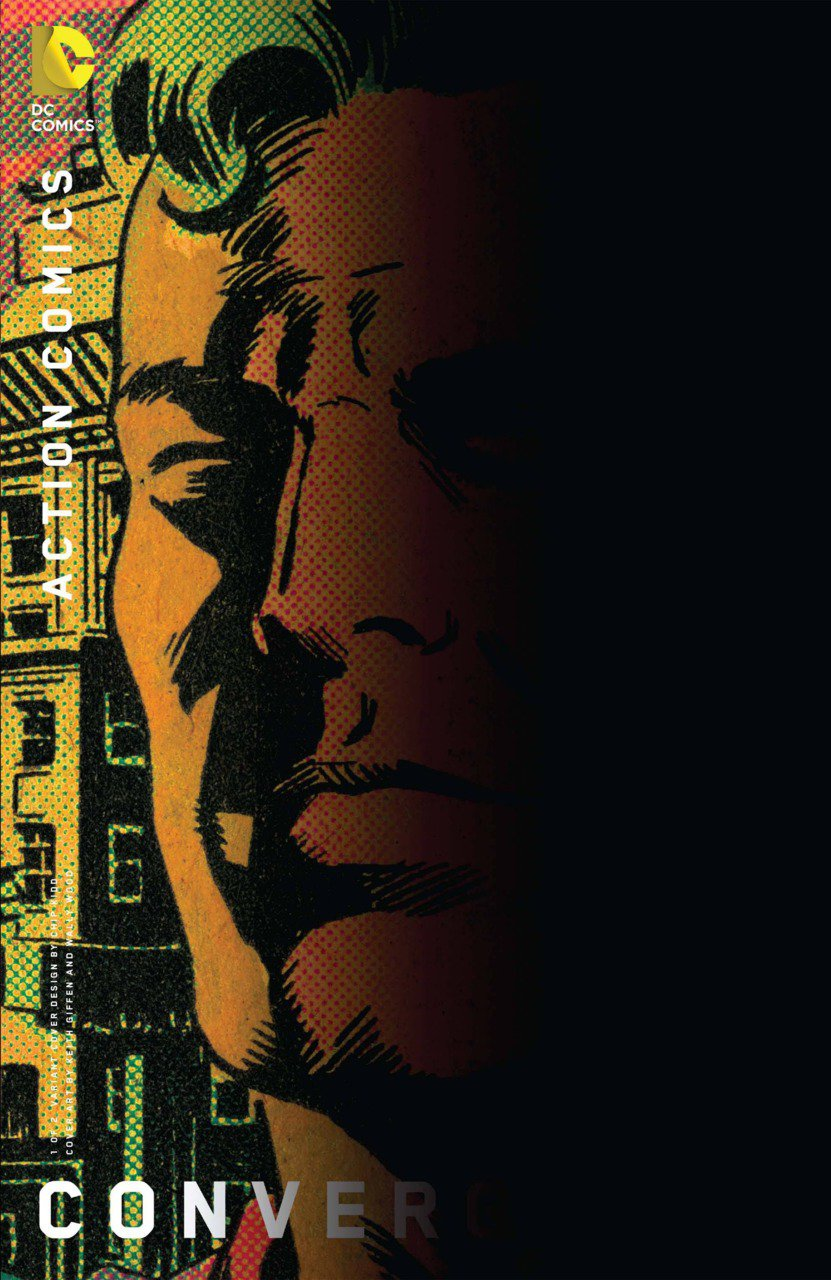Convergence Action Comics #1 Chip Kidd Variant [2015] VF/NM DC Comics