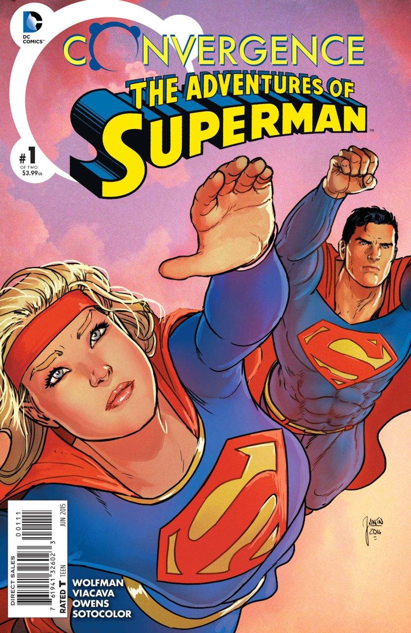 Convergence Adventures of Superman #1 [2015] VF/NM DC Comics
