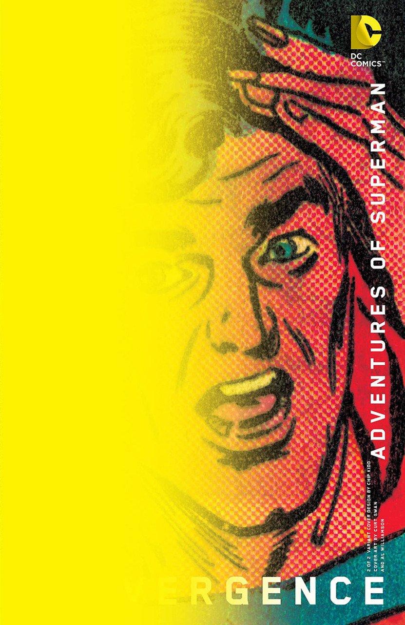 Convergence Adventures of Superman #2 Chip Kidd Variant [2015] VF/NM DC Comics