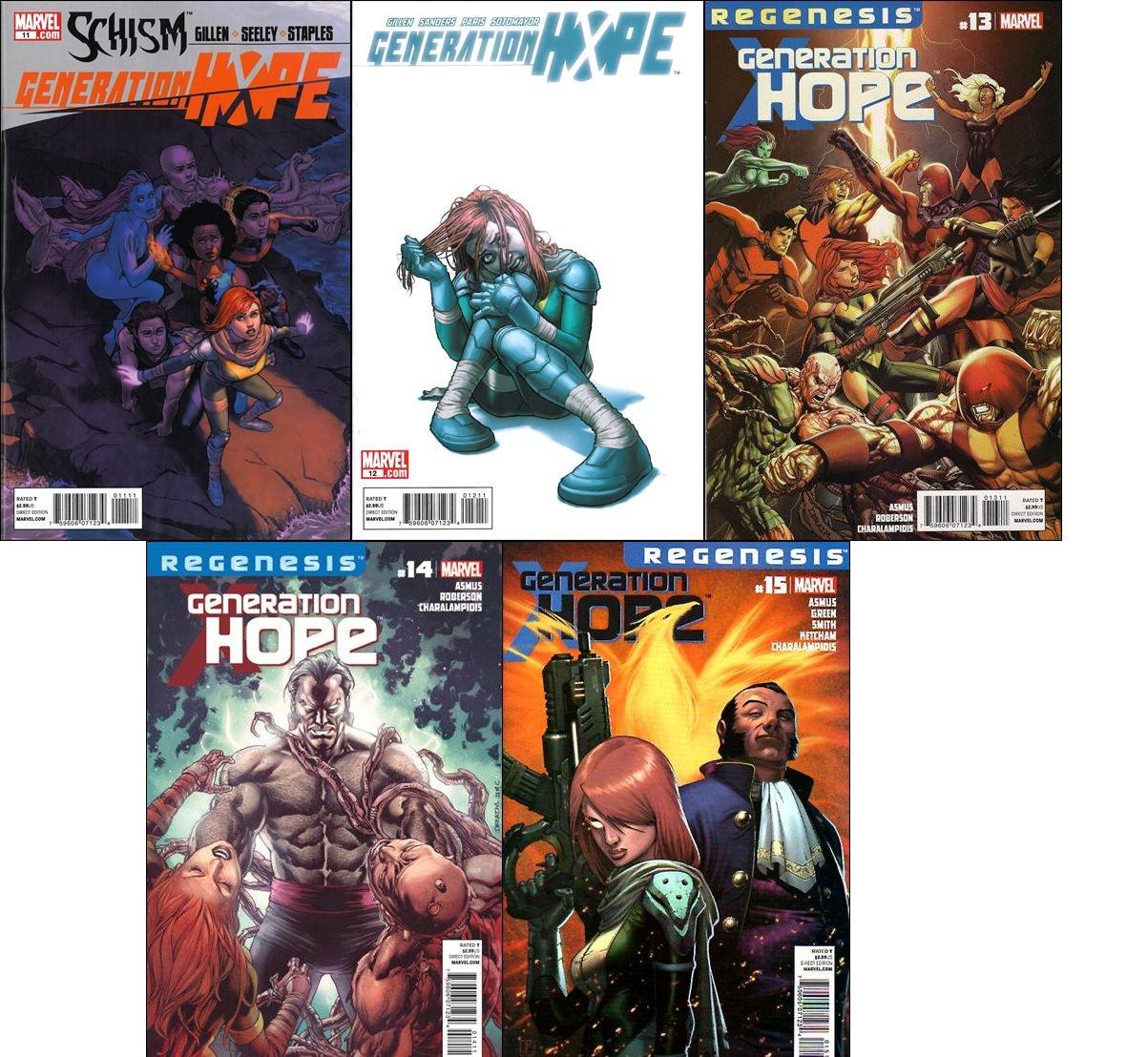 Generation Hope #11 12 13 14 15 Trade Set [2011-2012] VF/NM Marvel Comics