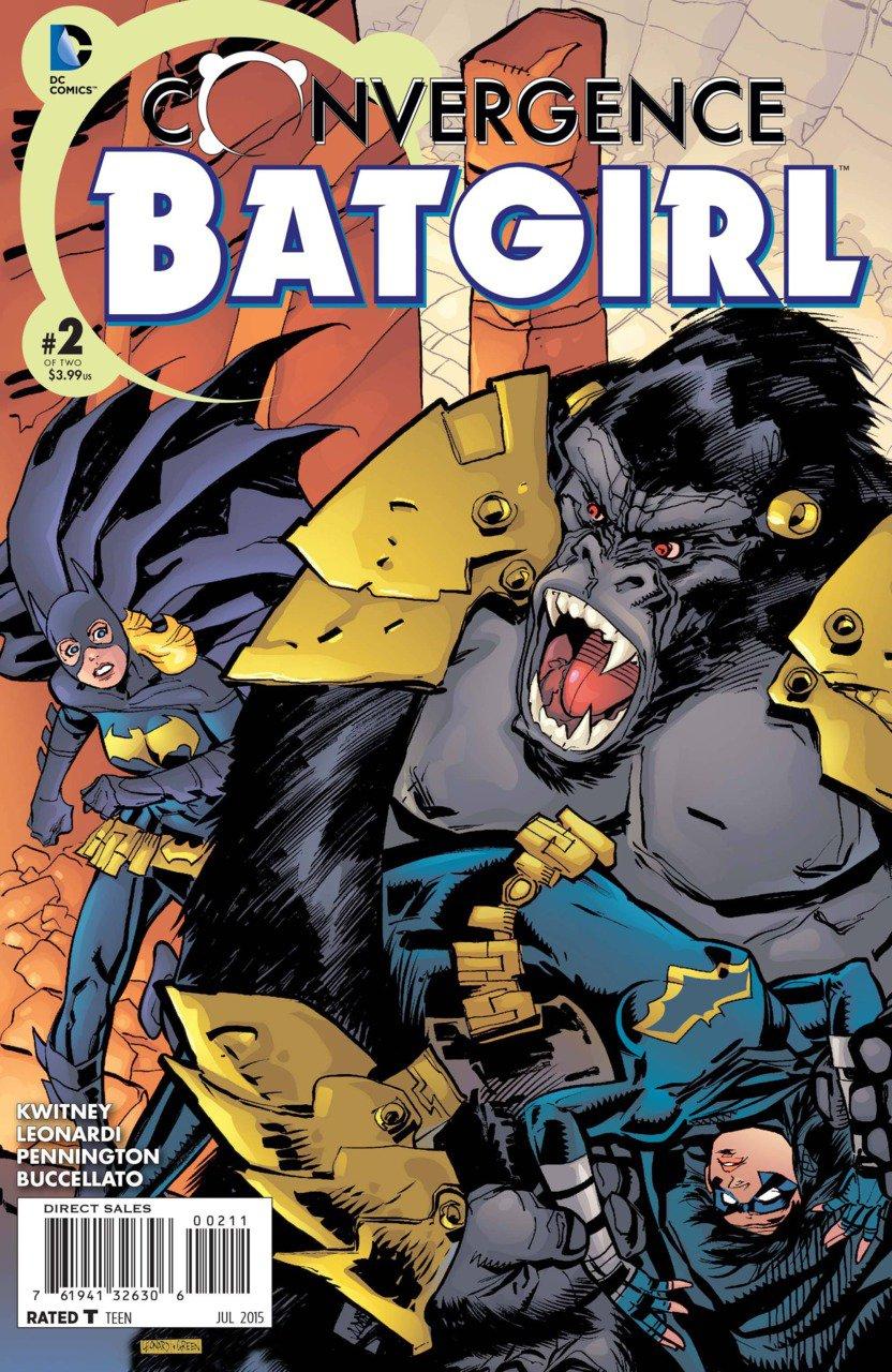 Convergence Batgirl #2 [2015] VF/NM DC Comics