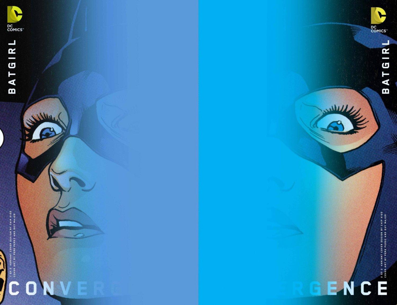 Convergence Batgirl #1 & 2 Chip Kidd Variants [2015] VF/NM DC Comics Trade Set