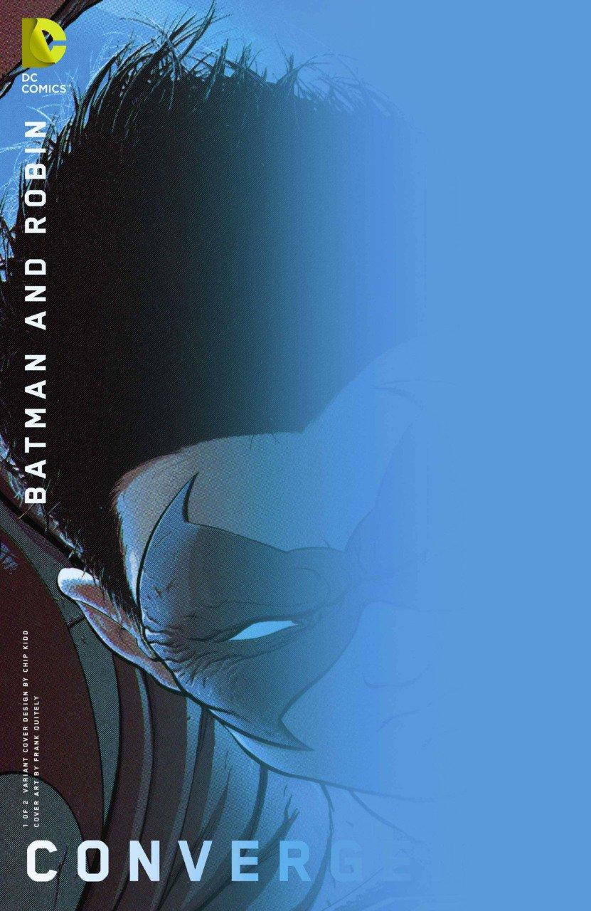 Convergence Batman and Robin #1 Chip Kidd Variant [2015] VF/NM DC Comics