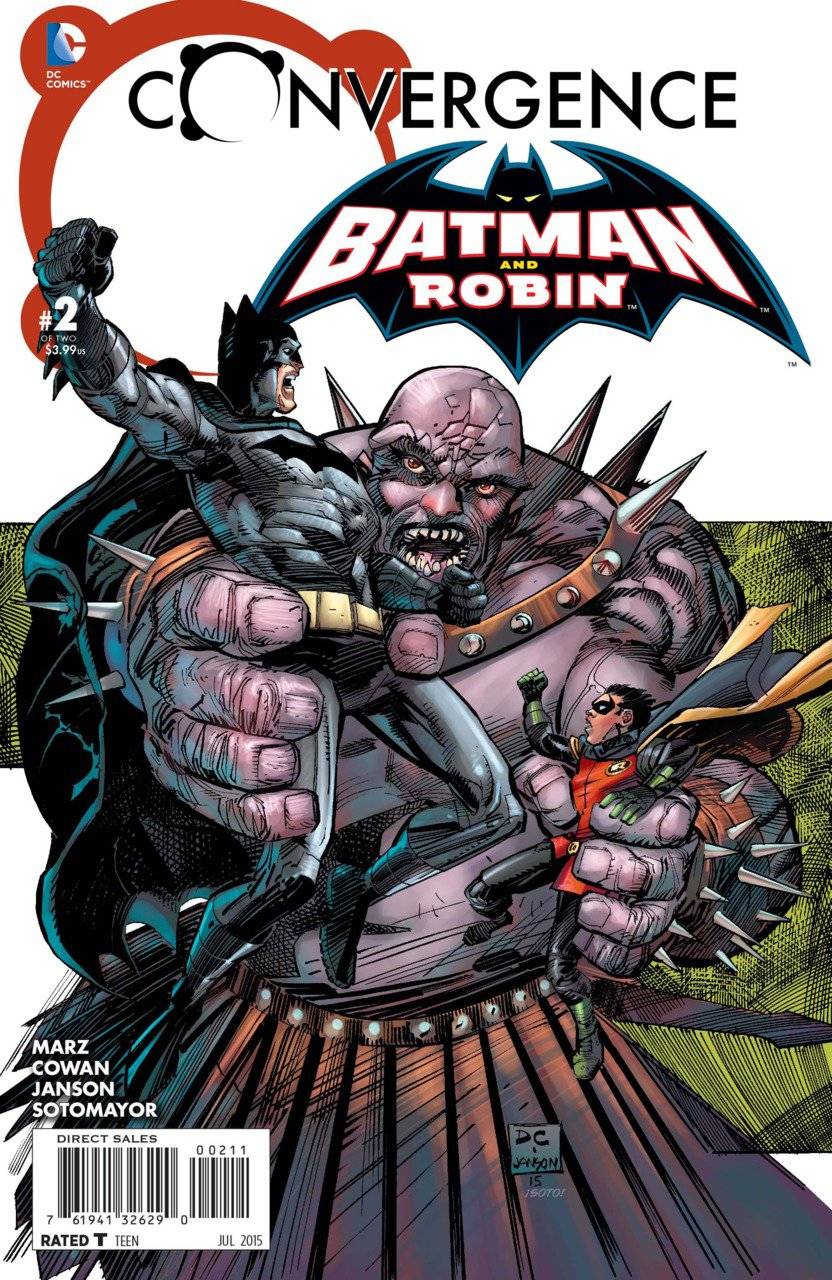 Convergence Batman and Robin #2 [2015] VF/NM DC Comics