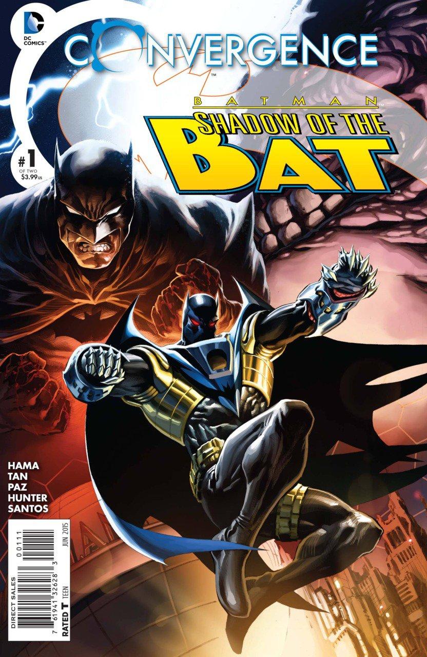 Convergence Batman Shadow of the Bat #1 [2015] VF/NM DC Comics