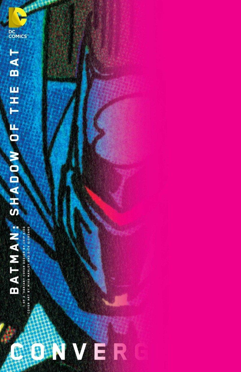 Convergence Batman Shadow of the Bat #1 Chip Kidd Variant [2015] VF/NM DC Comics