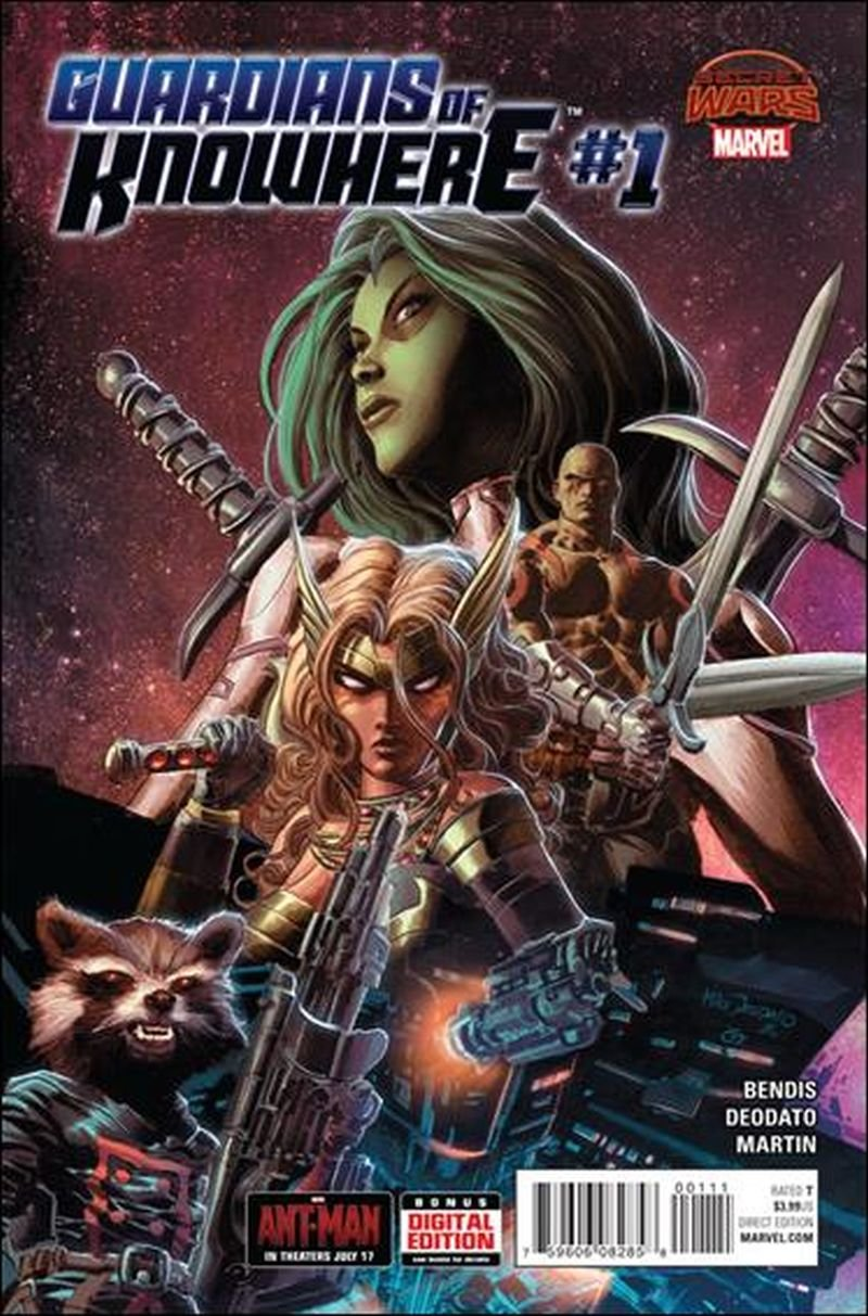 Guardians of Knowhere #1 [2015] VF/NM Marvel Comics