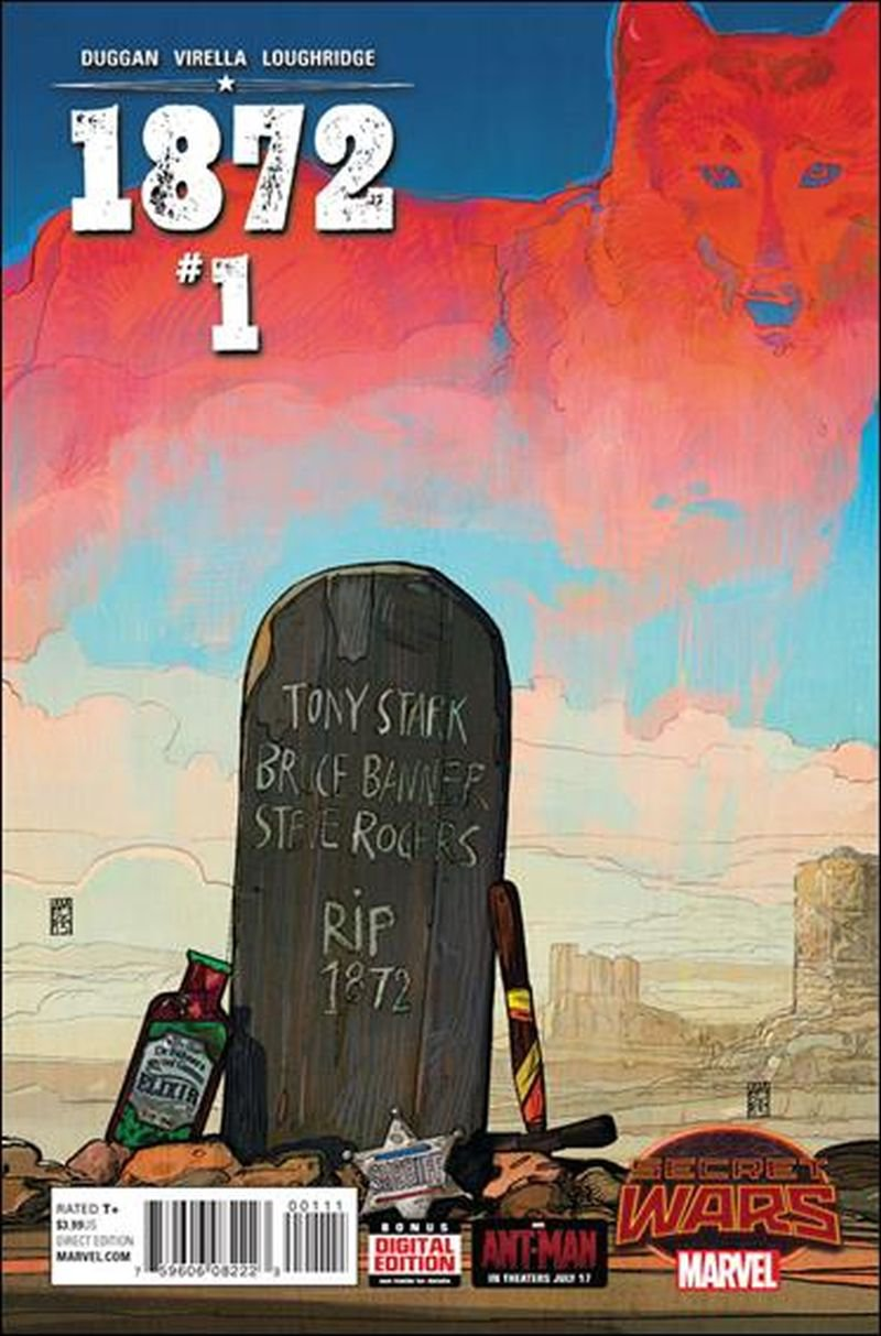 1872 #1 [2015] VF/NM Marvel Comics