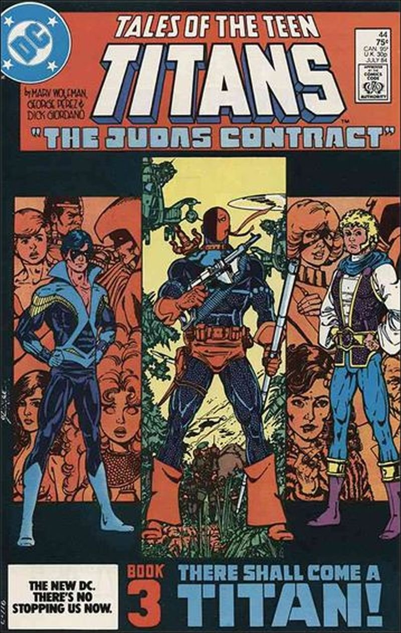 Tales of the Teen Titans #44 [1984] First appearance of Nightwing and Jericho VF/NM DC Comics