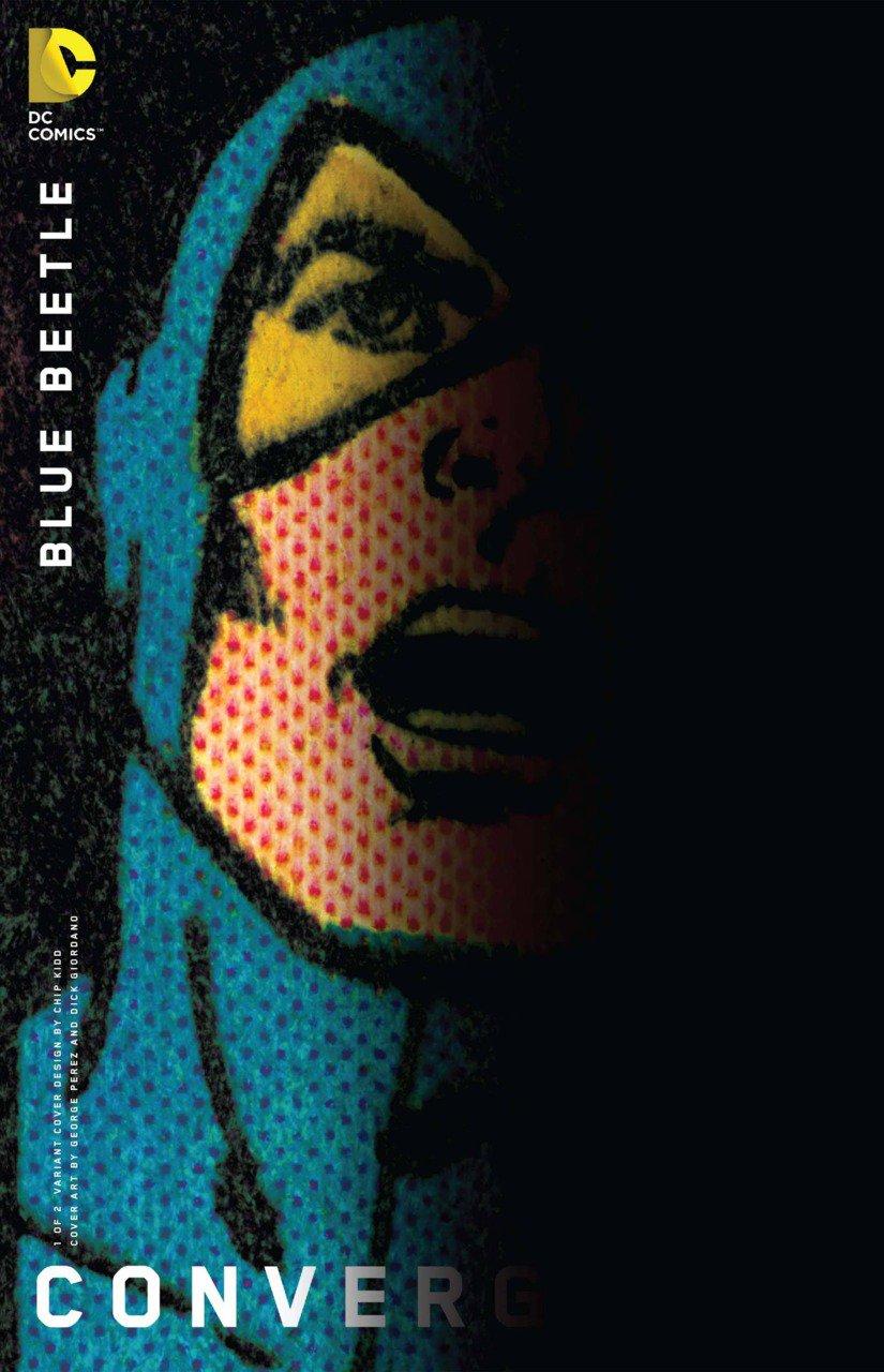 Convergence Blue Beetle #1 Chip Kidd Variant [2015] VF/NM DC Comics