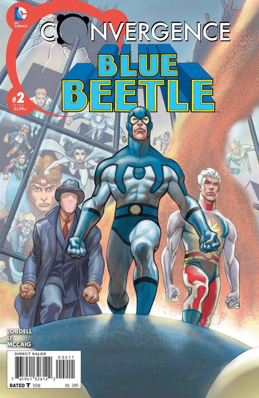Convergence Blue Beetle #2 [2015] VF/NM DC Comics