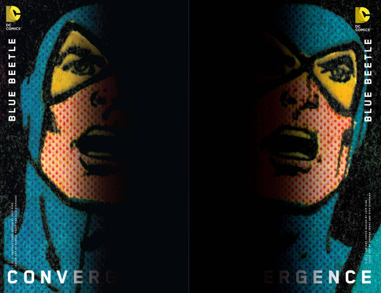 Convergence Blue Beetle #1 & 2 Chip Kidd Variants [2015] VF/NM DC Comics Trade Set