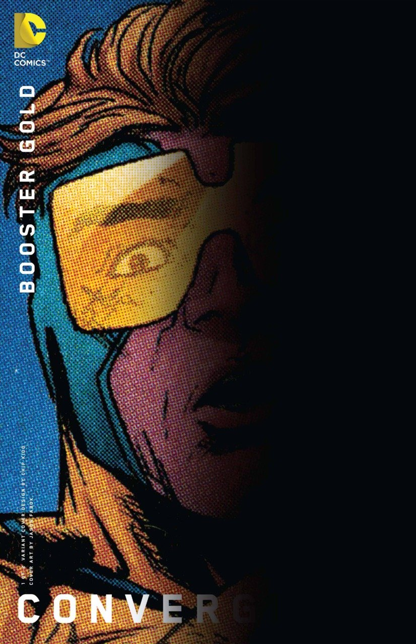 Convergence Booster Gold #1 Chip Kidd Variant [2015] VF/NM DC Comics