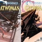 Convergence Catwoman #1 & 2 [2015] VF/NM DC Comics Trade Set