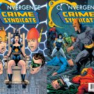 Convergence Crime Syndicate #1 & 2 [2015] VF/NM DC Comics Trade Set