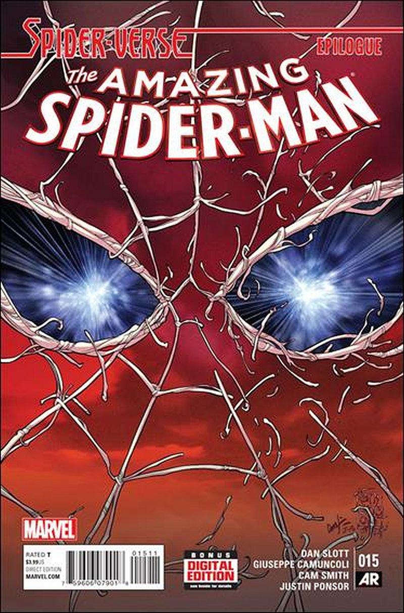 Amazing Spider-Man #15 [2015] VF/NM Marvel Comics Spider-Verse Epilogue