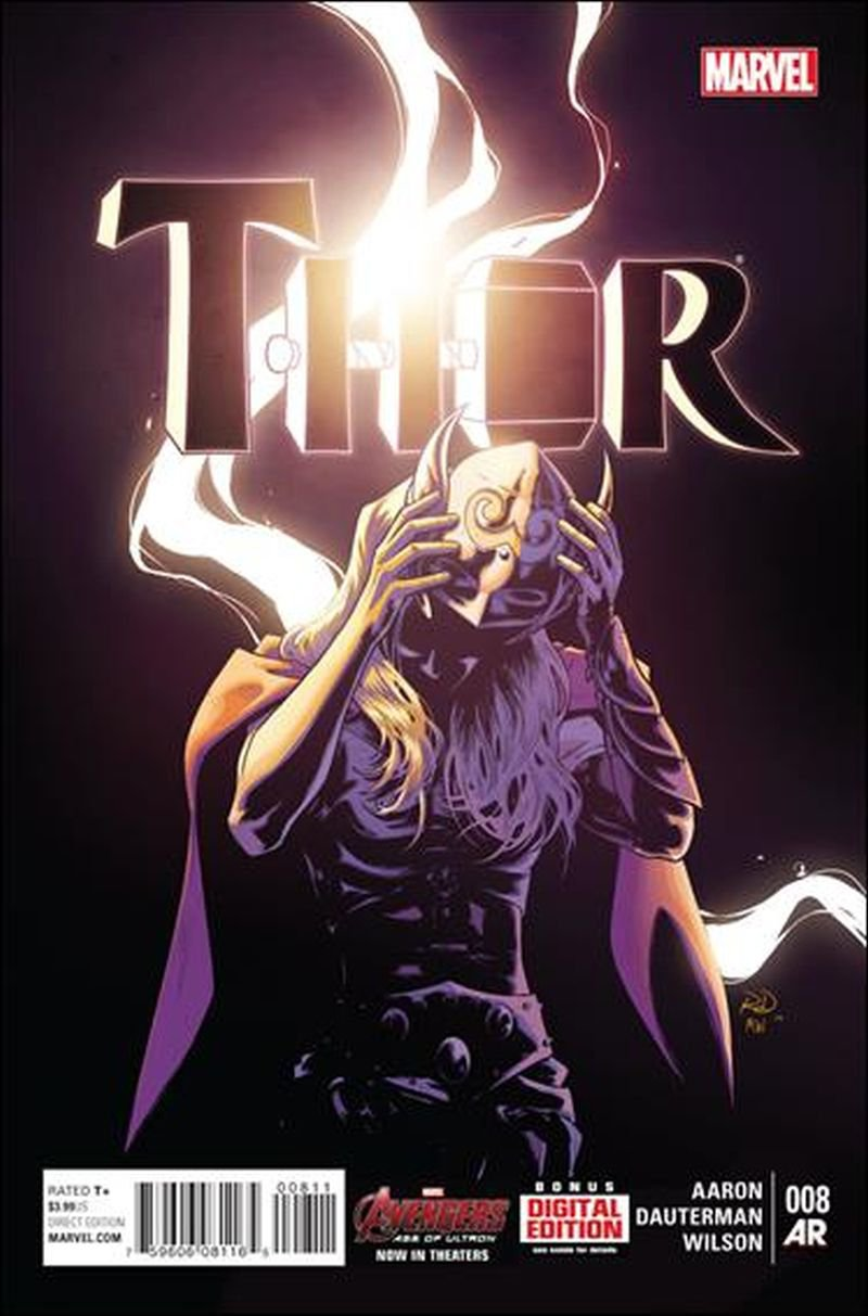 Thor #8 [2015] VF/NM Marvel Comics * Revealed at last, who is the new Thor?*