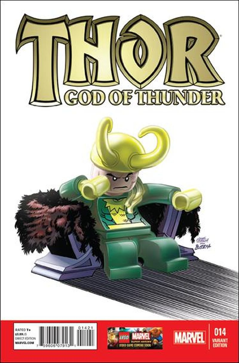 Thor God of Thunder #14 Leonel Castellani 1:25 Lego Cover [2013] VF/NM Marvel Comics
