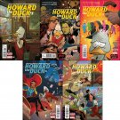 Howard the Duck #1 2 3 4 5 [2015] Trade Set VF/NM Marvel Comics