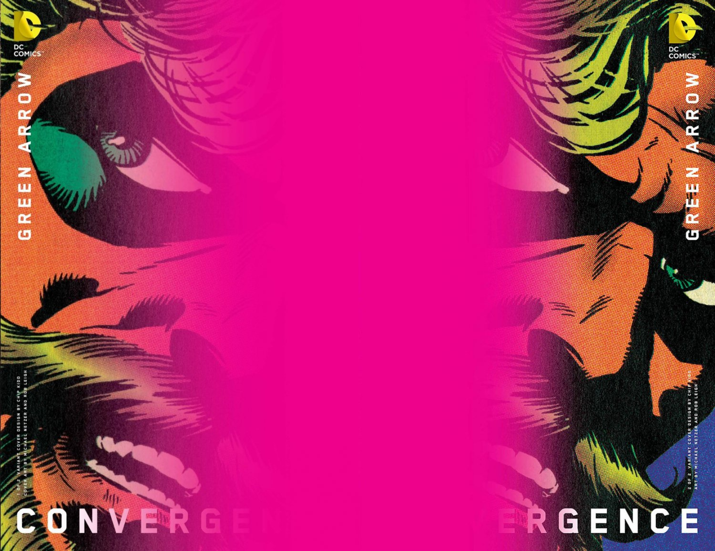 Convergence Green Arrow #1 & 2 Chip Kidd Variants [2015] VF/NM DC Comics