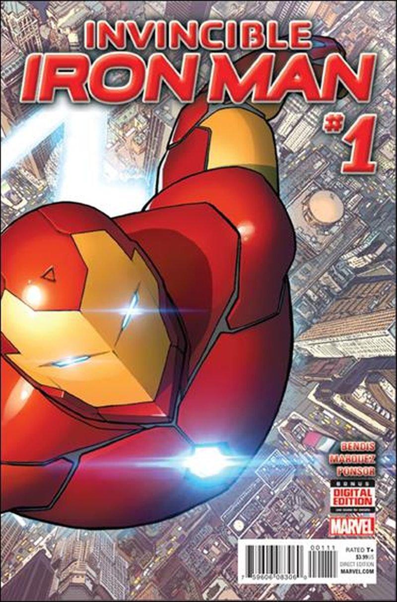 Invincible Iron Man #1  [2015] VF/NM Marvel Comics