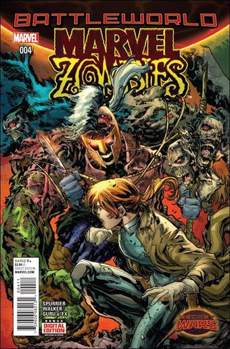Marvel Zombies (Vol 2) #4 [2015] VF/NM Marvel Comics