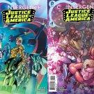 Convergence Justice League of America #1 & 2 [2015] VF/NM DC Comics Trade Set