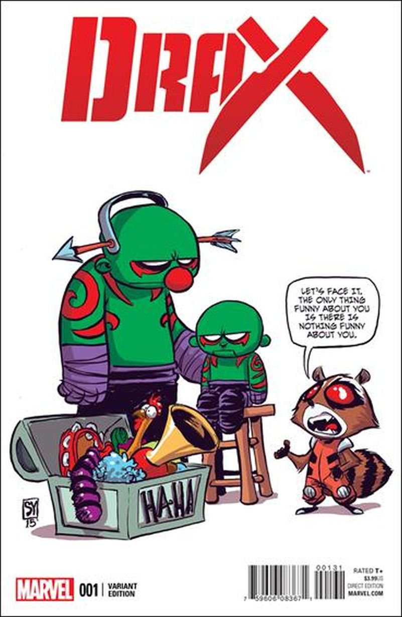 Drax #1 Skottie Young Baby Variant Cover [2016] VF/NM Marvel Comics