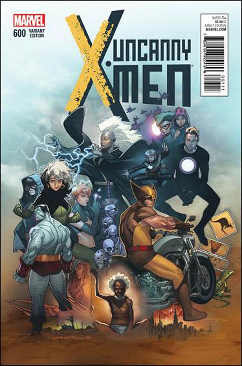 Uncanny X-Men #600 Olivier Coipel Variant Cover [2016] VF/NM Marvel Comics