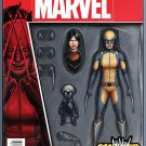 All-New Wolverine #1 John Tyler Christopher Action Figure Cover [2016] VF/NM Marvel Comics