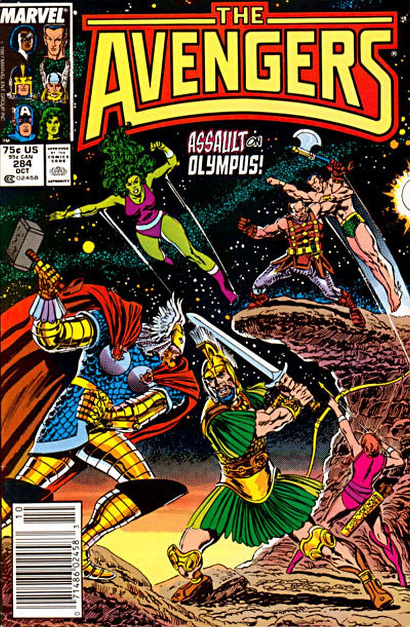 AVENGERS #284 VF/NM 1ST SERIES  *Incentive Copy*