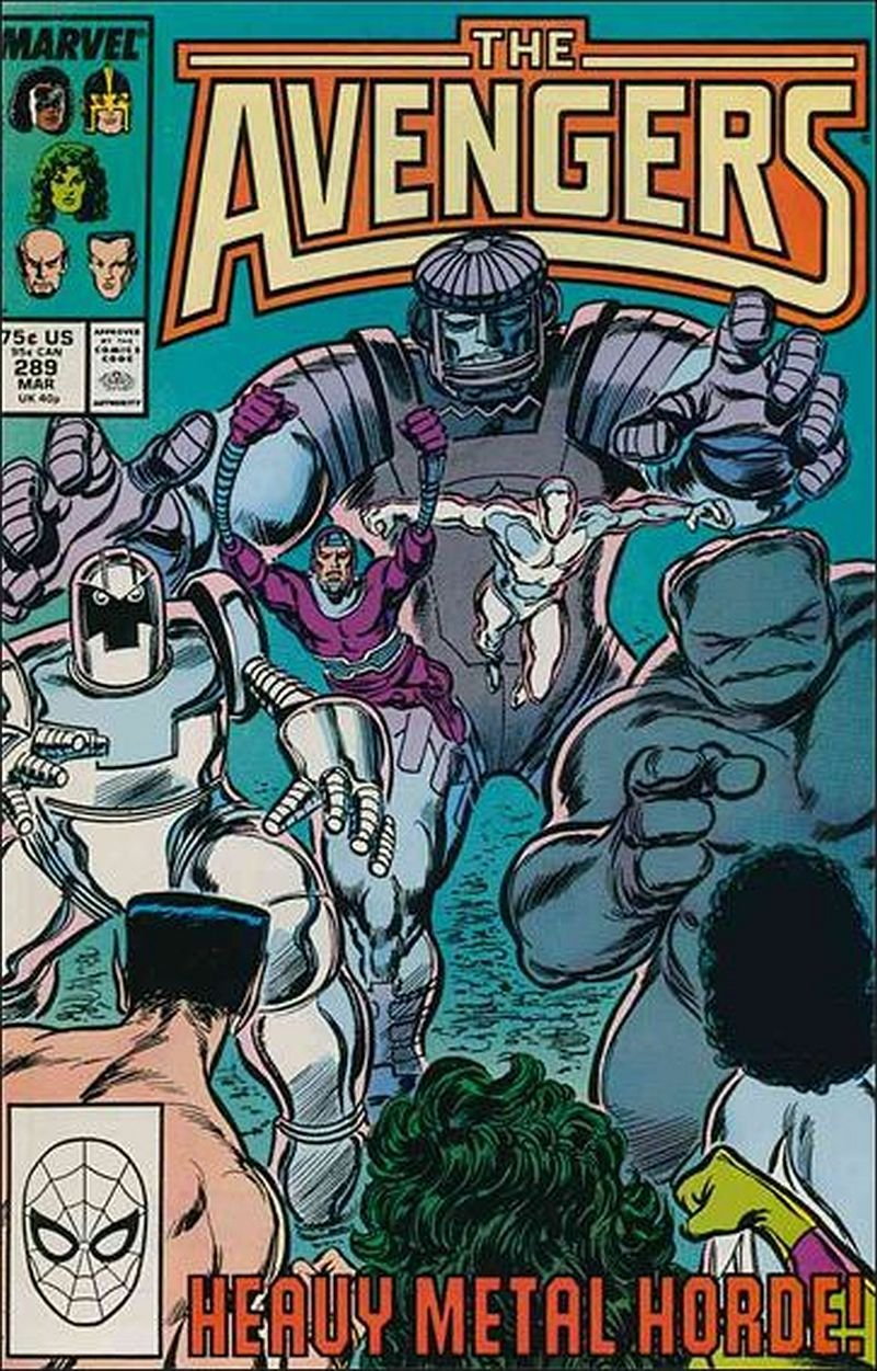 AVENGERS #289 VF/NM 1ST SERIES  *Incentive Copy*