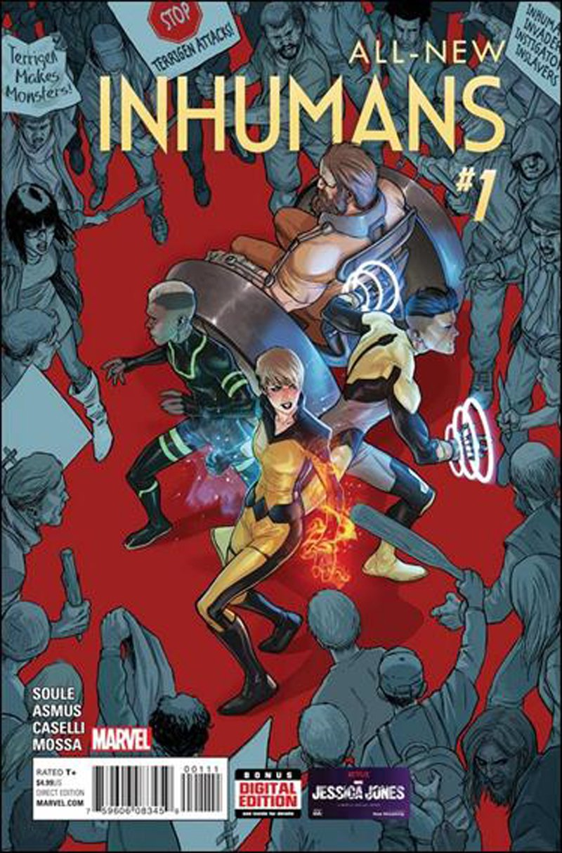 All-New Inhumans #1 [2016] VF/NM Marvel Comics