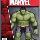 Totally Awesome Hulk #1 John Tyler Christopher Action Figure Cover [2016] VF/NM Marvel Comics