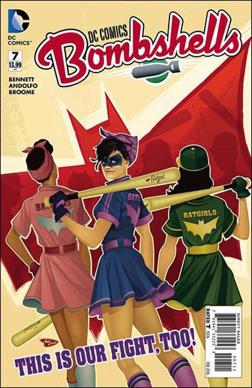DC Comics Bombshells #7 [2016] VF/NM DC Comics